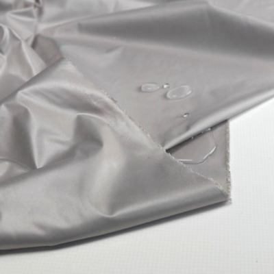 Licht Grau Nylon Outdoor-Stoff wasserdicht winddicht Regenjacke Plane - Regendicht Kostüm