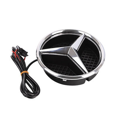 1pc Mercedes Benz Front Grille Star Emblem Light 2011-2016 Illuminated LED Light