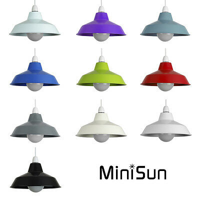 MiniSun Metal Ceiling Pendant Light Shades