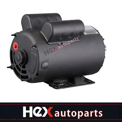 New Electric Motor 3450 Rpm Air Compressor 60 Hz 208-230 Volts B385 5 Hp Spl