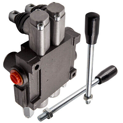 2 Spool Hydraulic Control Valve 13 Gpm 3600 Psi Adjustable For Tractors Loaders