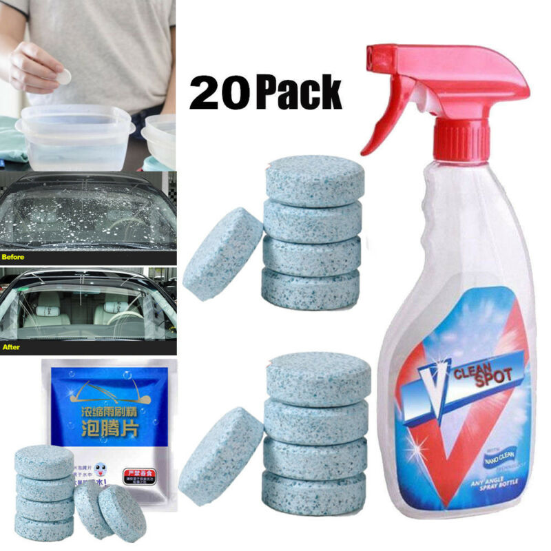 Multifunctional Effervescent Spray Cleaner V Clean Spot Conc