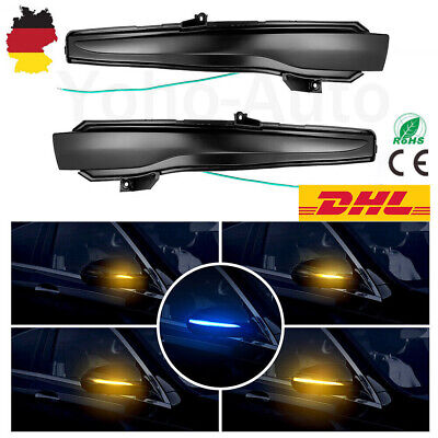 2× LED Sequenziell Dynamisch Blinkerleuchte Für Mercedes W205 W222 W213 C217 DE