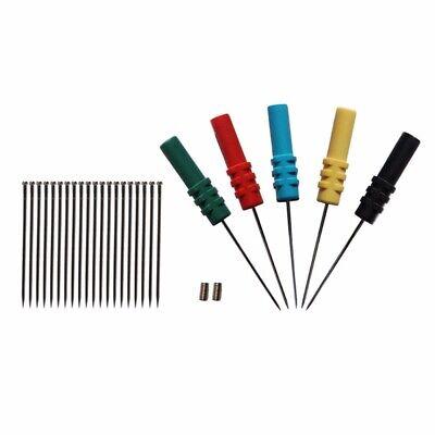 5pcs Hantek Ht307 Acupuncture Back Test Probe Pins Screw Auto Diagnostic Test Us