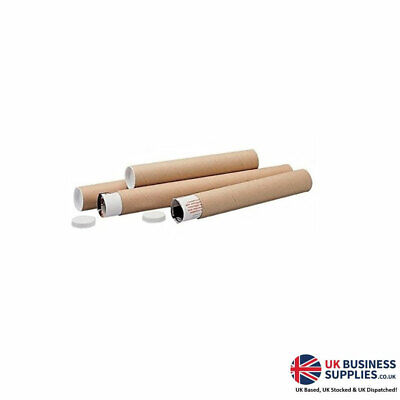 Brown 47643LM 720x100mm Mailing Postal Tube Pack 5's