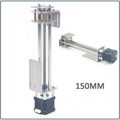Z-axis Slide 150mm Diy Milling Linear Motion Guide Rail For Cnc Engraving Motion