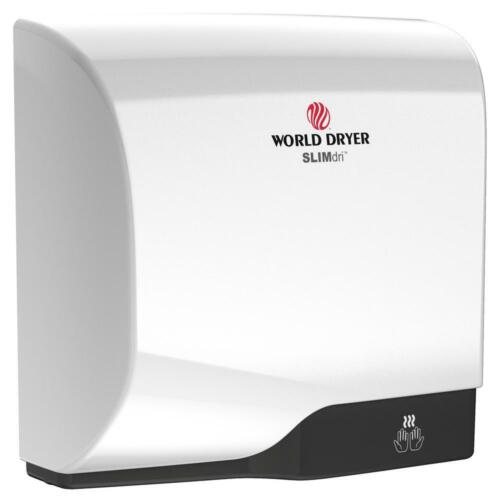 WORLD DRYER SLIMdri Hand Dryer in Brushed Stainless Steel