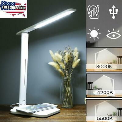 28LED USB LED Desk Light Bed Study Reading Table Lamp +QI Wireless Phone Charger, used for sale  Shipping to Nigeria