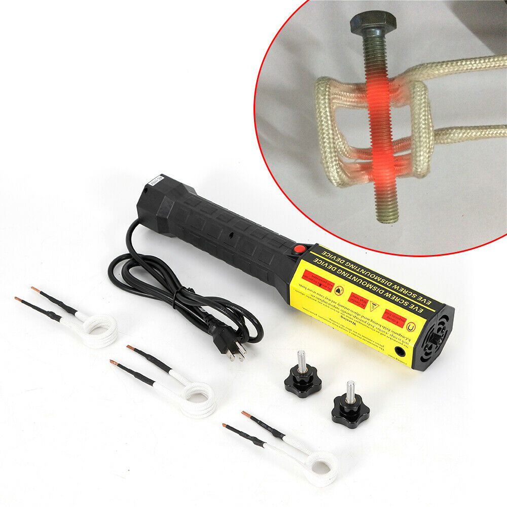 220V 1KW Mini Ductor Magnetic Induction Heater Kit For Automotive Flameless Heat
