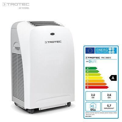 TROTEC PAC 2000 S Lokales mobiles Klimagerät Klimaanlage 2kW / 7.000 Btu, EEK A