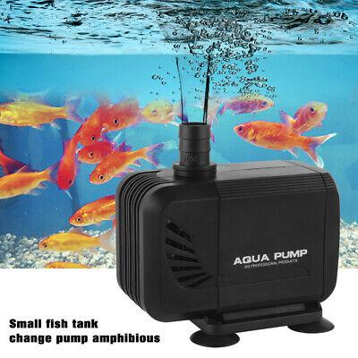 1500 L//h Aquarium Energiespar ECO Tauchpumpe Förderpumpe Wasserpumpe Fontänepump