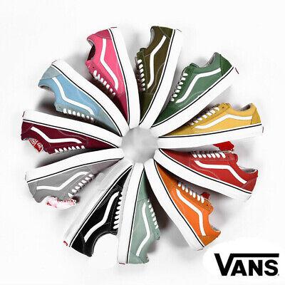 Vans Old Skool Men's Women's Classic Casual Canvas Skate Shoes Vulcanized Sole