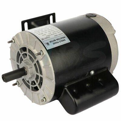 Air Compressor Electric Motor 1 Hp 56 Frame 3450 Rpm 115230 V Single Phase Ccw