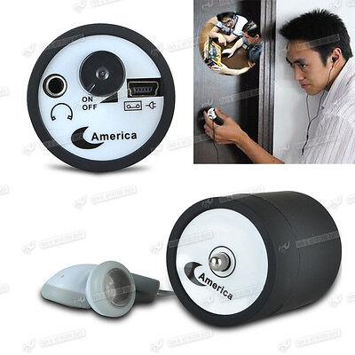 Abhörgerät Geräuschverstärker Spy Tool Stethoskop Spionage Micro USB Headset