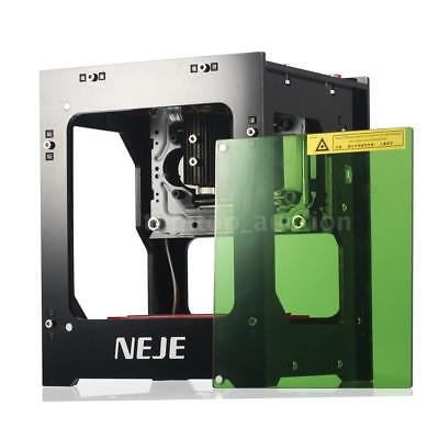 Neje Dk-8-kz 1000mw Diy Laser Engraver Cutter Engraving Carving Machine Printer