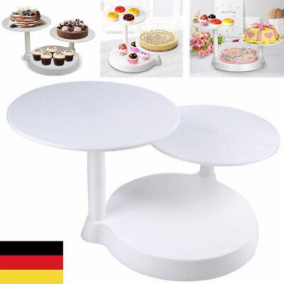 3 stöckig Kuchenständer Tortenständer Muffinständer Kuchenplatte Kuchen Anzeigen