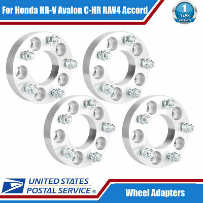 "(4) 1.25"" Thick 5x4.5 to 5x4.75 Wheel Adapters 1/2in x20 Studs 5X114.3 to 5X120"