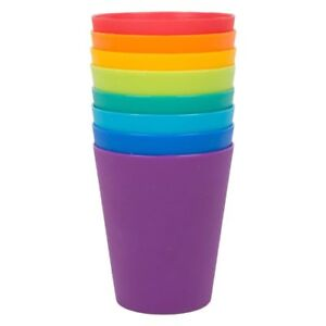 Plastic Drinking Cups Mugs Tumblers Children Kids Party Small BBQ Outdoor Picnic