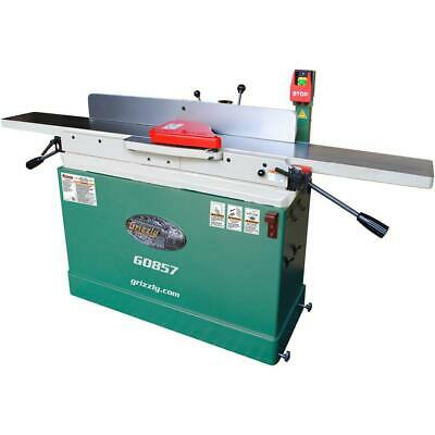 Grizzly G0857 230v 8 Inch X 76 Inch Parallelogram Jointer With Mobile Base