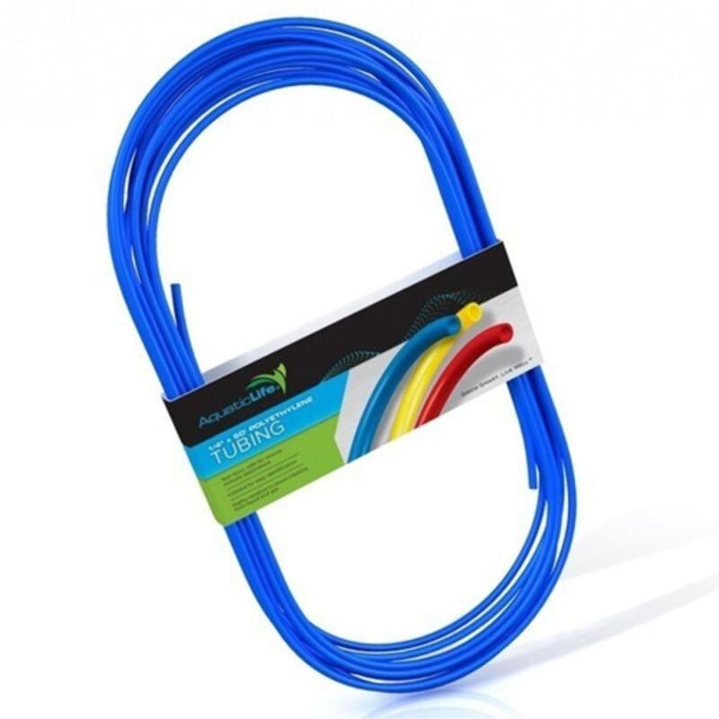 AquaticLife Tubing Polyethylene 50 FT x 1/4 IN Blue