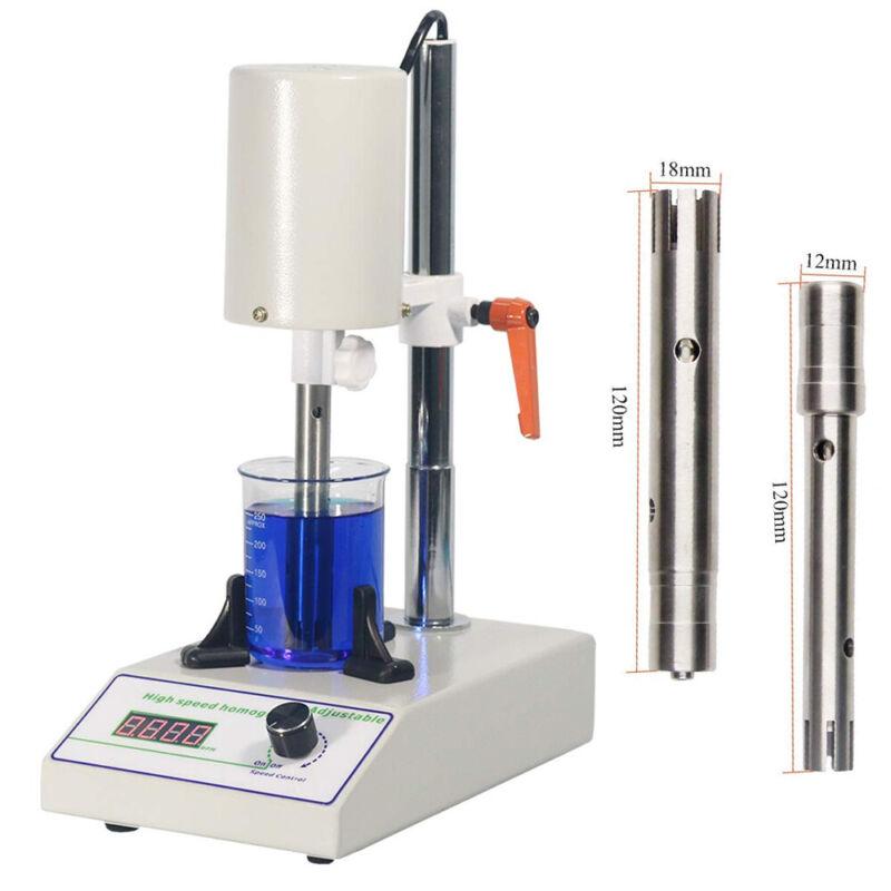 260W Adjustable High Speed Homogenizer Lab Disperser Emulsifier 22000rpm 110V