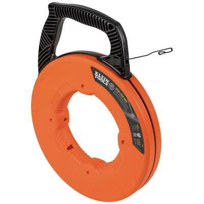 Klein 120 Ft Steel Fish Tape Vdv Electrical Wire Cable Puller Fishing Running