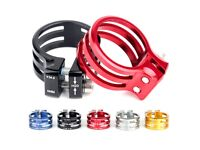 ELECYCLES Bicycle Seat Post Clamp Cycling Clamping Carbon Frame 31.8/34.9/37mm