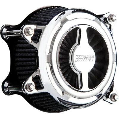 Vance & Hines Chrome V02 Blade Air Cleaner Filter Intake Harley 91+ Sportster XL