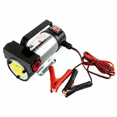 Electric Diesel Pump Reversible Fuel Oil Transfer Self Priming 24v 12v 220w Kits
