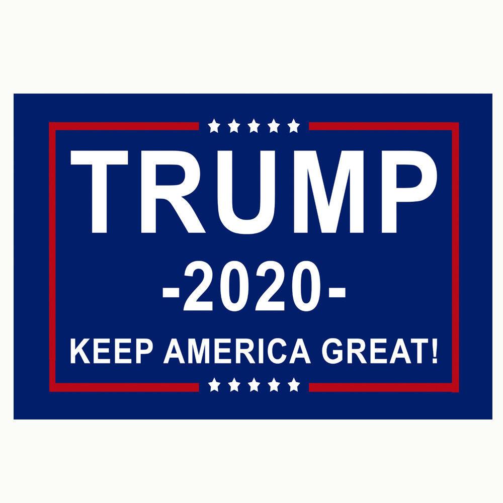 TRUMP NO MORE BULLSHIT 2020 12x18 2x3 3x5 150D Nylon Flag Protect OFFICIAL FLAG