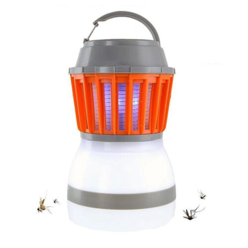 Mosquito Killer Lamp Outdoor Camping Light LED Rechargeable Fly Insect Zapper