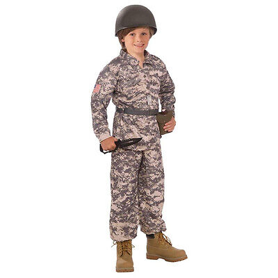 Desert Soldier / Army Child Military Costume - Desert Army Costume