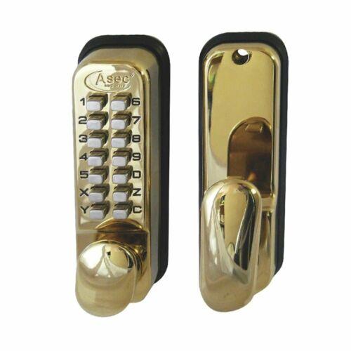 Asec Digital Door Lock Brass (AS2301)