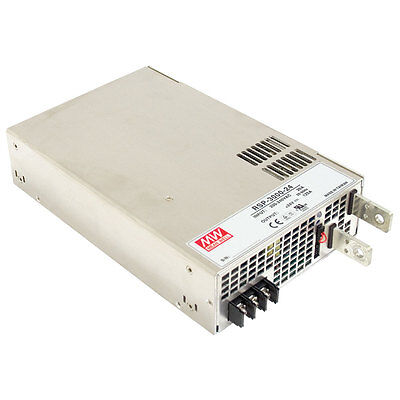 Mean Well Rsp-3000-48 Power Supply Switching Enclosed 3k Watt 48vdc62.5a Pfc Pa