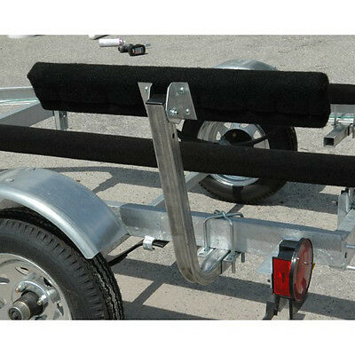 """CE Smith 2ft Short Bunk Boat Trailer Carpeted Guide-On Ons (Pair) 2""""x4""""x24"""" Pads"""