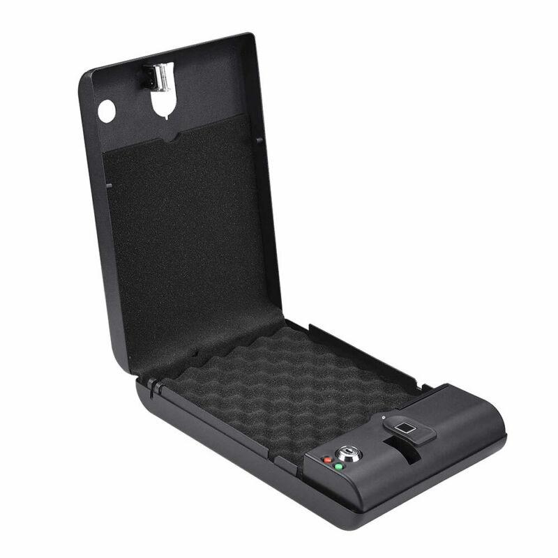 Hand Gun Safe Portable Handgun Storage Cabinet Security Box Pistol Lock