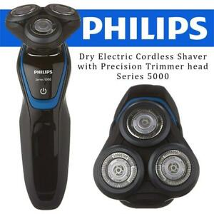 NEW Philips Dry Electric Cordless Shaver with Precision Trimmer head, Series 5000, S5100/08 Condtion: New but is open...