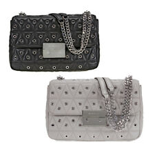 Michael Kors Sloan Large Studded Shoulder Bag- Choose color