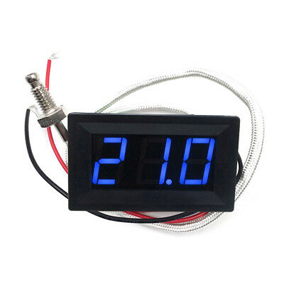 Led Dc12v Thermocouple K Type -30800 High Temperature Digital Thermometer