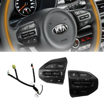 Cruise Audio Control Switch With Bluetooth Switch 7p for 2011 2014 Kia Sportage