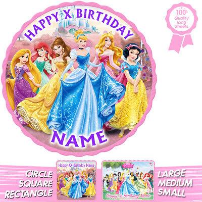 Disney Princess Cake Topper Personalised