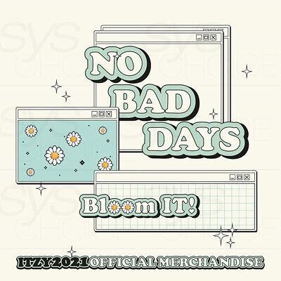 ITZY Official Goods NO BAD DAYS APRIL LIMITED MONTHLY KIT Bloom IT!