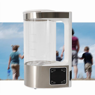 Alkaline Ionizer Hydrogen Rich Water Maker Generator Pitcher Kettle Jug 2L (Best Water Ionizer Pitcher)