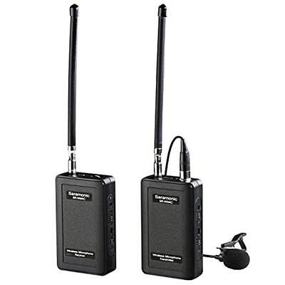 Always Buy Good Audio For Video Video Production & Editing Active Saramonic Wireless Vhf Lavalier Microphone Bundle With 2 Bodypack Transmitters