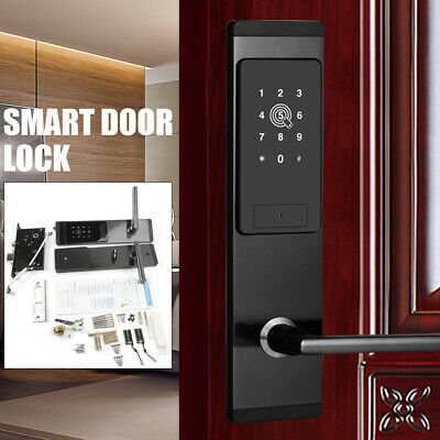 Digital Lock bluetooth Remote Smart Door Lock Cell Phone Key Password Cards