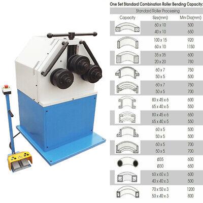 Roll Bender Machine 3 Phase 220 V 3hp Bending Square Round Flat Steel