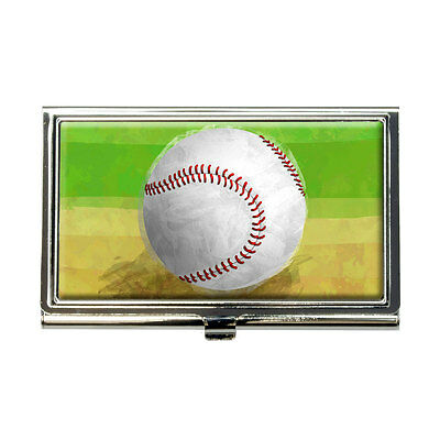 Baseball Business Credit Card Holder Case