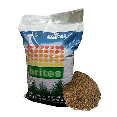 Wood Pellets for Wood Burning Stoves - Handy 10kg Bag - Fast Delivery