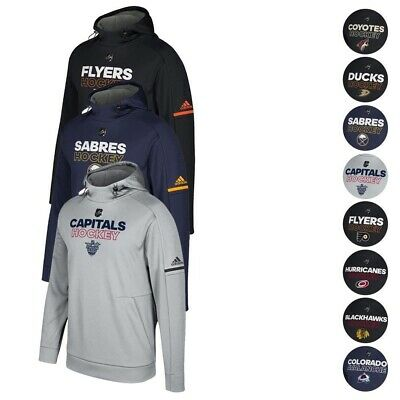 NHL Adidas Men's Authentic Climawarm Performance Pro Player Hoodie Collection Mens Pro Player