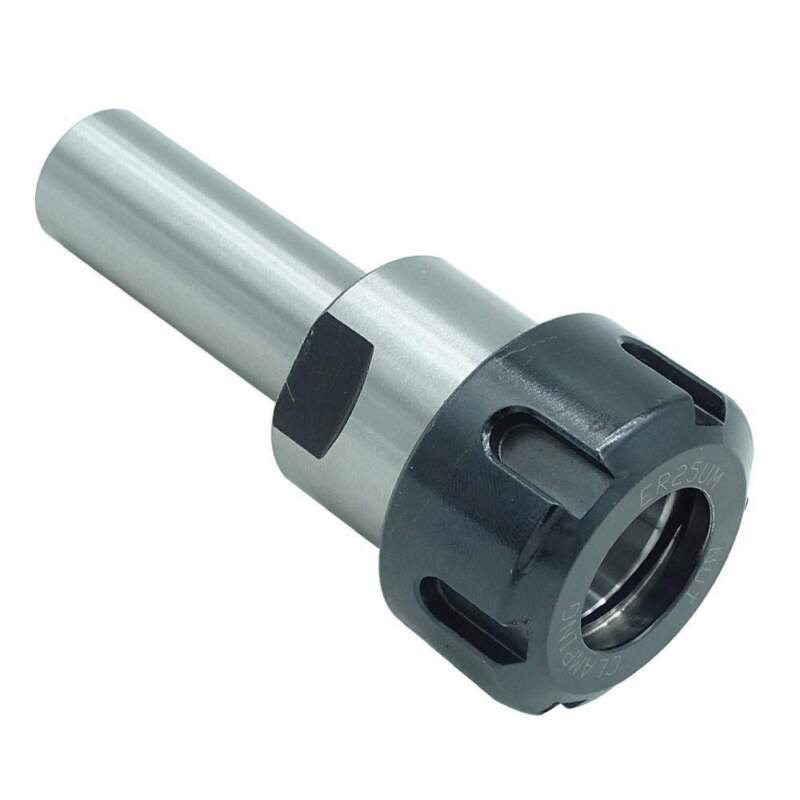 """ER25 3/4"""" Collet Chuck Tool Holder With Straight Shank 2"""" Proj."""